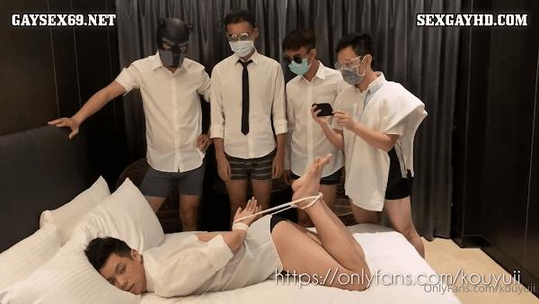 Gay sex party